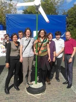 Grüne Kreistagsfraktion auf der Energiemesse